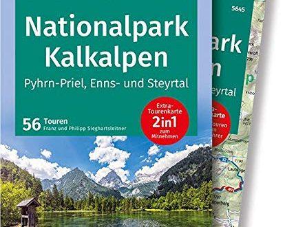 KOMPASS Wanderfuehrer Nationalpark Kalkalpen Pyhrn Priel Enns und Steyrtal Wanderfuehrer 414x330 - KOMPASS Wanderführer Nationalpark Kalkalpen - Pyhrn-Priel, Enns- und Steyrtal: Wanderführer mit Extra-Tourenkarte 1:50.000, 56 Touren, GPX-Daten zum Download