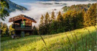Posterlounge Leinwandbild 40 x 60 cm Fruehling in Berchtesgaden von 310x165 - Posterlounge Leinwandbild 40 x 60 cm: Frühling in Berchtesgaden von Fotomagie - fertiges Wandbild, Bild auf Keilrahmen, Fertigbild auf echter Leinwand, Leinwanddruck