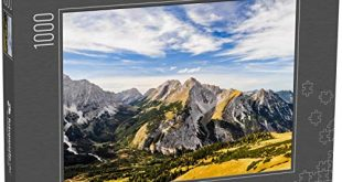 fotopuzzlede Puzzle 1000 Teile Schoene Aussicht vom Gipfel des Mahnkopfes 310x165 - fotopuzzle.de Puzzle 1000 Teile Schöne Aussicht vom Gipfel des Mahnkopfes im Karwendelgebirge der nördlichen Kalkalpen in Österreich